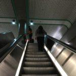 ロサンゼルの地下鉄