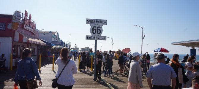 サンタモニカビーチに行きました【傷心旅】
