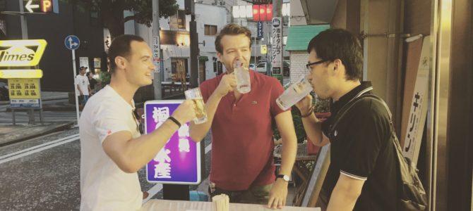 オランダ人と酒を飲み交わして色々と教えてもらいました