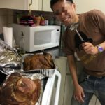Thanksgiving Day partty に招待されました