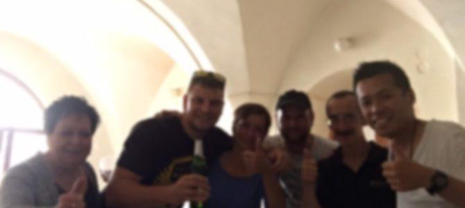 【チェコ】ズノイモで出会った夫婦と飲み続けた二日間