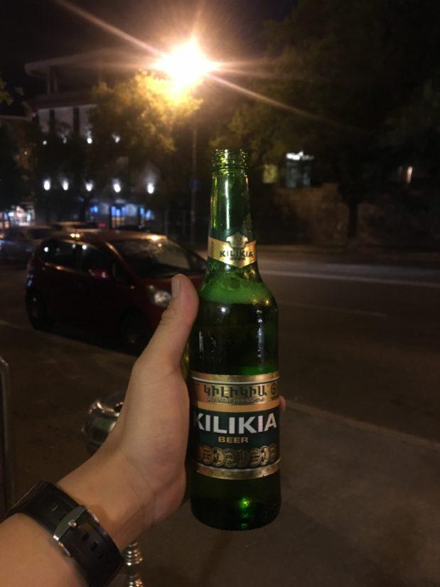 KILIKIA beer 100円