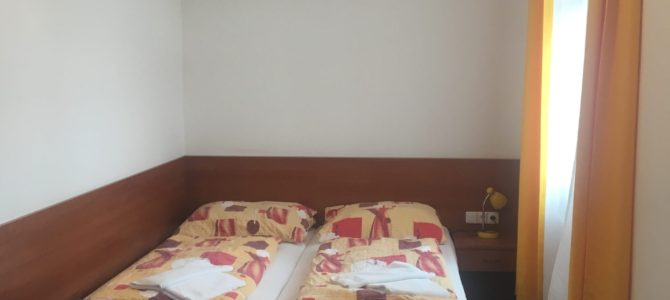 【チェコ・ズノイモ】市内中心にあるコスパに優れた宿「Hotel Morava」